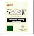 Stabilize It 26in x 36in Sheet Permanent Embroidery Topping - HUNTER GREEN