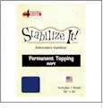 Stabilize It 26in x 36in Sheet Permanent Embroidery Topping - NAVY