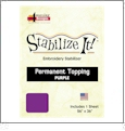 Stabilize It 26in x 36in Sheet Permanent Embroidery Topping - PURPLE