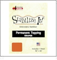 Stabilize It 26in x 36in Sheet Permanent Embroidery Topping - ORANGE