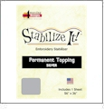 Stabilize It 26in x 36in Sheet Permanent Embroidery Topping - SILVER