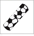 "Sports Soccer Grosgrain Ribbon - 7/8"" x 1 Yard"