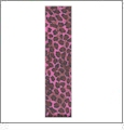 "Animal Wildcat Print Hot Pink Grosgrain Ribbon - 7/8"" x 1 Yard"