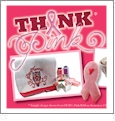 OESD Think Pink Gift Set Combo - Includes ETO Designs, Cotton Waffle Weave Towels & More CLOSEOUT