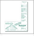 Embroiderer's Placement Ruler