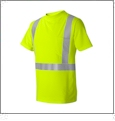 ML Kishigo - High Performance Micro-Fiber Safety T-Shirt - LIME