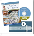 Circles Sew Simple Tool with Book & DVD from Sewing With Nancy