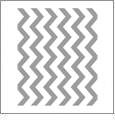 Chevron Horizontal GRAY - QuickStitch Embroidery Paper - One 8.5in x 11in Sheet