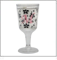 Wine Goblet  Acrylic Embroidery Blanks - CLOSEOUT