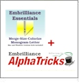 Embrilliance Essentials with AlphaTricks Combo Embroidery Software DOWNLOADABLE
