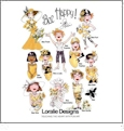 Bee Happy by Loralie Designs Embroidery Designs on a Multi-Format CD-ROM 630-118