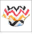 Chevron Diaper Cover - MULTI COLOR
