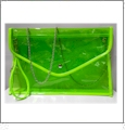 Swimsuit Purse Embroidery Blank - Green With Green Trim