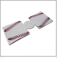 Unsewn 12oz Can Coolie Embroidery Blanks - BASEBALL