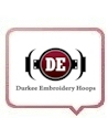 Durkee Embroidery Hoops & Hooping Stations