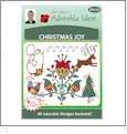 Christmas Joy Embroidery Designs by John Deer's Adorable Ideas - Multi-Format CD-ROM