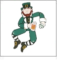 Decorative Swing & Sway Leapin Leprechaun Embroidery Designs by John Deer's Adorable Ideas - Multi-Format CD-ROM