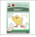 Easter 1 Embroidery Designs by John Deer's Adorable Ideas - Multi-Format CD-ROM