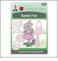 Easter Fun Embroidery Designs by John Deer's Adorable Ideas - Multi-Format CD-ROM