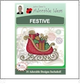 Festive Embroidery Designs by John Deer's Adorable Ideas - Multi-Format CD-ROM AIFES