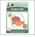 Festive Fall Embroidery Designs by John Deer's Adorable Ideas - Multi-Format CD-ROM