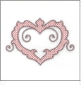 Floral Hearts Embroidery Designs by John Deer's Adorable Ideas - Multi-Format CD-ROM