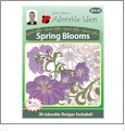 Garden Glory Spring Blooms Embroidery Designs by John Deer's Adorable Ideas - Multi-Format CD-ROM