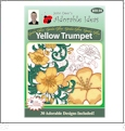 Garden Glory Yellow Trumpet Embroidery Designs by John Deer's Adorable Ideas - Multi-Format CD-ROM