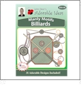 Manly Motifs Billiards Embroidery Designs by John Deer's Adorable Ideas - Multi-Format CD-ROM
