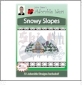Snowflake Dreams Embroidery Designs by John Deer's Adorable Ideas - Multi-Format CD-ROM