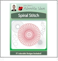 Spiral Stitch Embroidery Designs by John Deer's Adorable Ideas - Multi-Format CD-ROM