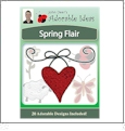 Spring Flair Embroidery Designs by John Deer's Adorable Ideas - Multi-Format CD-ROM