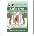 Surf N Style Embroidery Designs by John Deer's Adorable Ideas - Multi-Format CD-ROM