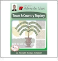 Town and Country Topiary Embroidery Designs by John Deer's Adorable Ideas - Multi-Format CD-ROM