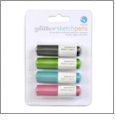 Silhouette Glitter Sketch Pen - Four Pen Pack