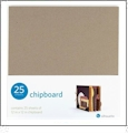 "Silhouette 12"" x 12"" Chipboard 25 - Pack"