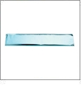 "Mylar Tissue Satin Blue 18"" X 30"" 5/pkg"