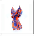 Licensed Collegiate Scarf Embroidery Blanks - Boise State University