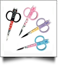 Purrfect Points Kitties Embroidery Scissors - Complete Set of 4 Styles