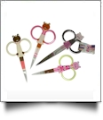 Buddy Bear Embroidery Scissors - Complete Set of 4 Styles OVERSTOCK