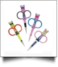 Happy Bunny Embroidery Scissors - Complete Set of 4 Styles CLOSEOUT