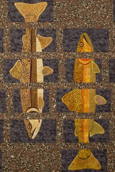 About Trout Quilt Pattern Amp Design Collection Embroidery