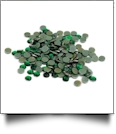 20SS/5mm Silhouette Rhinestones - Approximately 200 Pieces - GREEN