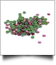 20SS/5mm Silhouette Rhinestones - Approximately 100 Pieces - PINK