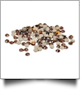 20SS/5mm Silhouette Rhinestones - Approximately 200 Pieces - AMBER - CLOSEOUT