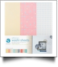 Silhouette Adhesive Washi Sheets - CLOSEOUT