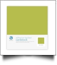 "Silhouette Adhesive-Backed Cardstock 12"" x 12"" - 25 Sheet Pack - KEY LIME"