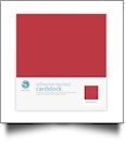 "Silhouette Adhesive-Backed Cardstock 12"" x 12"" - 25 Sheet Pack - STRAWBERRY"