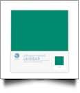 "Silhouette Adhesive-Backed Cardstock 12"" x 12"" - 25 Sheet Pack - TEAL"