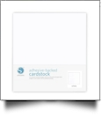 "Silhouette Adhesive-Backed Cardstock 12"" x 12"" - 25 Sheet Pack - WHITE"